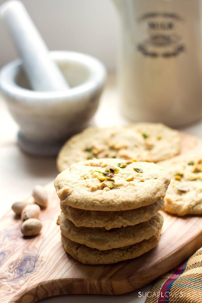Tahini Almond Cookies