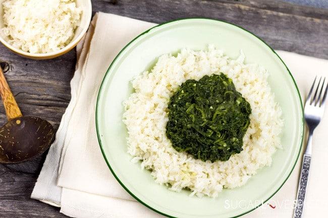 Ethiopian Spinach Stew (Gomen Wot)