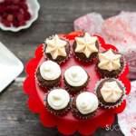Chocolate Beet Mini Cupcakes