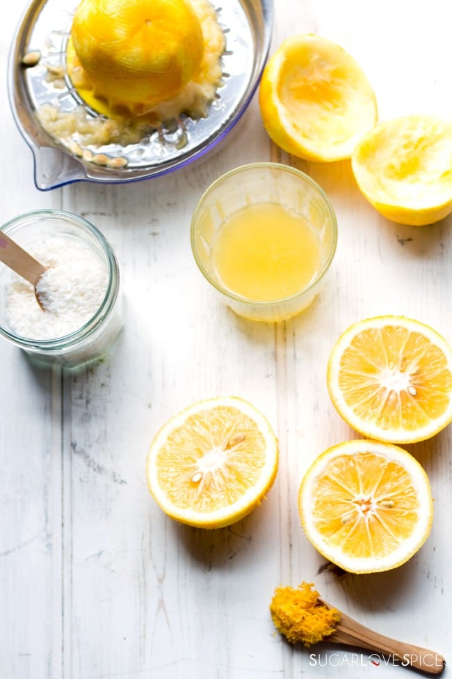 Meyer Lemon Ricotta Soft Cake