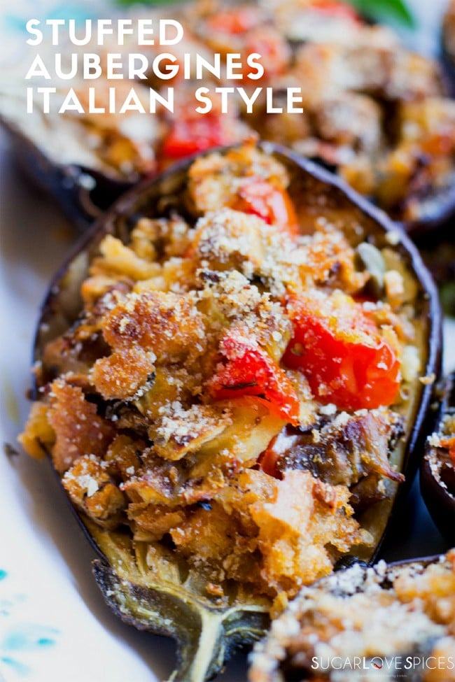 Stuffed aubergines greek style dresses