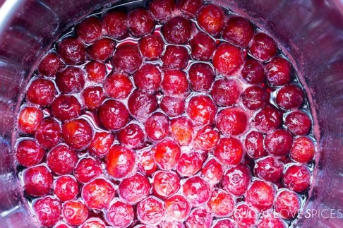amarene sciroppate (sour cherries in syrup)