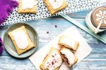 homemade sour cherry whole wheat pop tarts