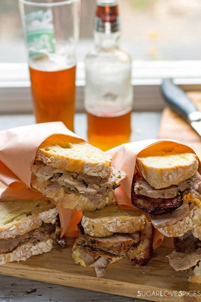porchetta panini