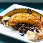 Roasted Acorn Squash with Lentils and Pearl onions