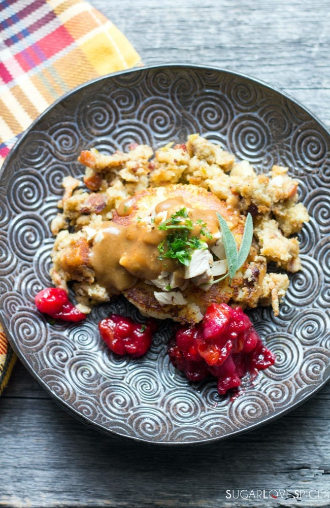 Thanksgiving leftover reinvented