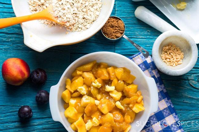 plum nectarine crisp