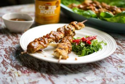 Cookie Notti Crunchy Chicken Satay