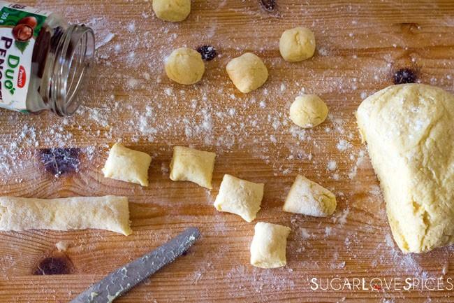 Castagnole (Italian Carnival Fritters)-prep