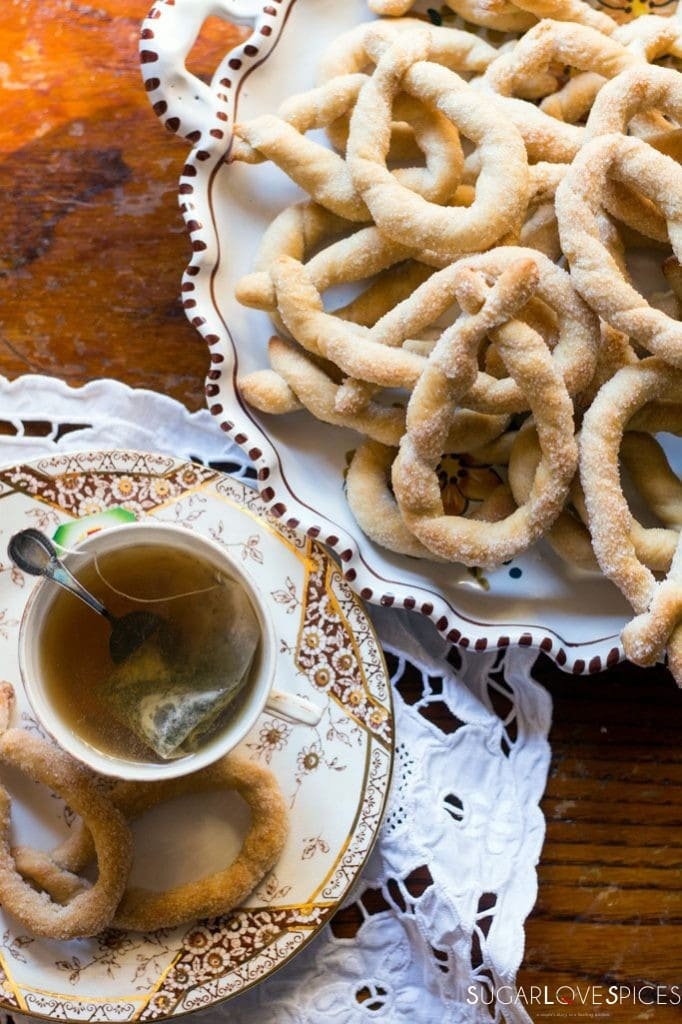 Torcetti Italian Twisted Butter Cookies