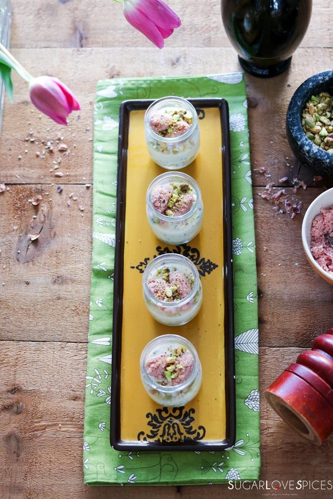 Savory mini cheesecake with ricotta and mortadella