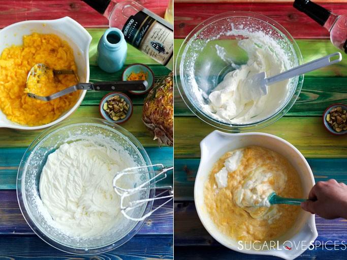 Mango ice cream (Coupe Mount Kenya)