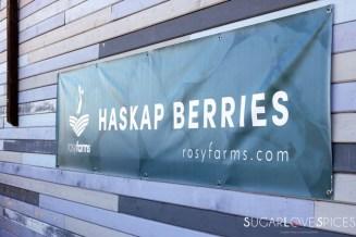 Haskap Berry Hand Pies & A Haskap Farm Table