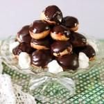 Classic French Chocolate Profiteroles