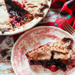 Prairie Berry and Sour Cherry Rye Pie