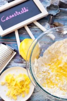 Canestrelli, Italian Shortbread Cookies-lemon