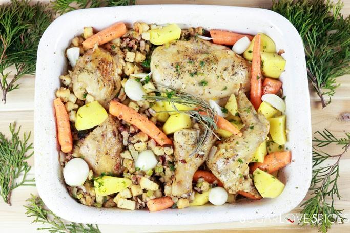 Easy Breezy One Pan Chicken Dinner