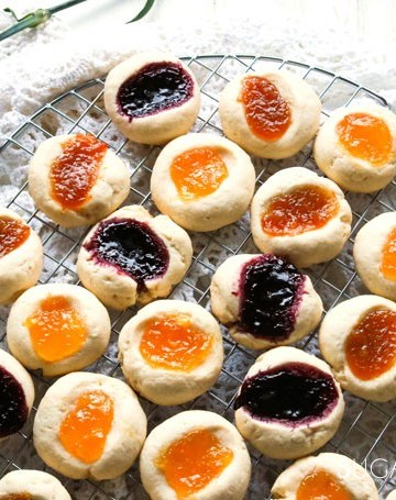 Jam Thumbprint Cookies