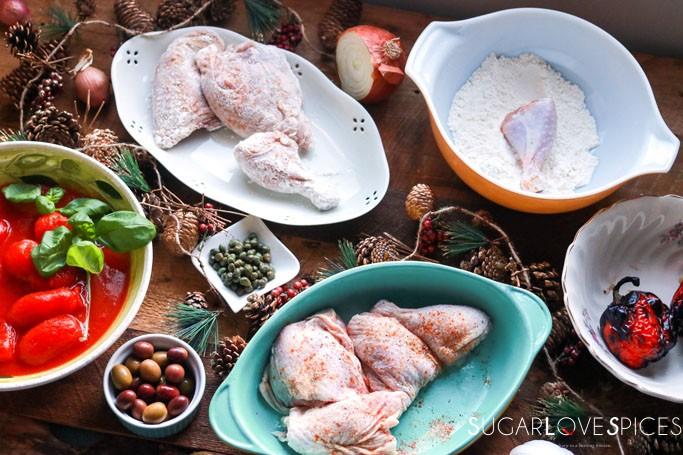 Chicken Cacciatore Pollo alla Cacciatora