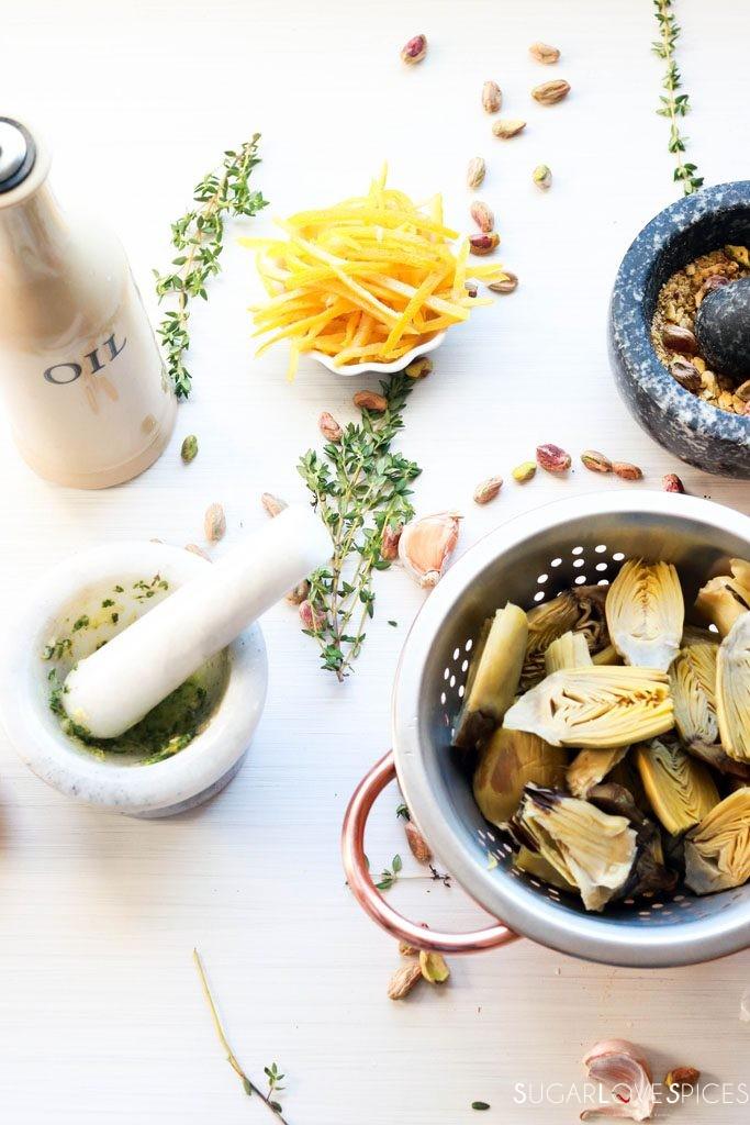 Artichoke and Lemon Salad