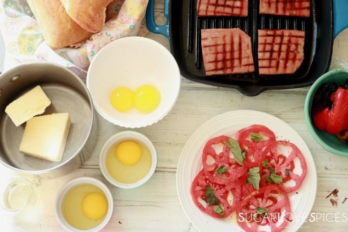 Easter Eggs benny Italian-style