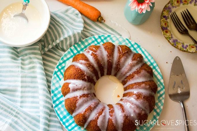 Italian Carrot Bundt Cake (Torta di Carote)