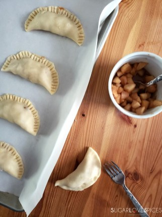 making hand pies