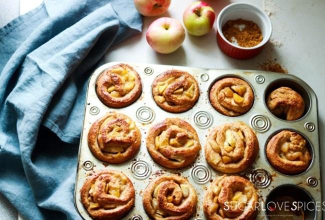 Salted Butter spiced apple brioche rolls-feature