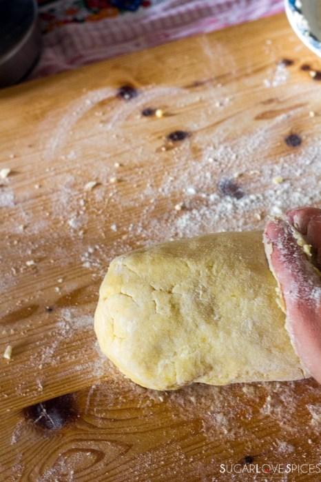 Homemade Potato Gnocchi-gnocchi dough