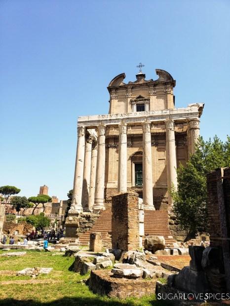 When in Rome, Roma Antica Tour-Roman Forum