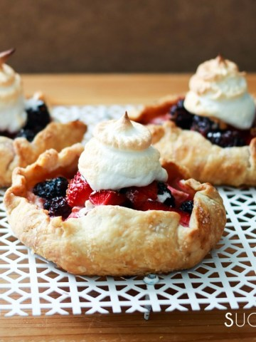 Mixed Berry Lazy Day Pies-feature