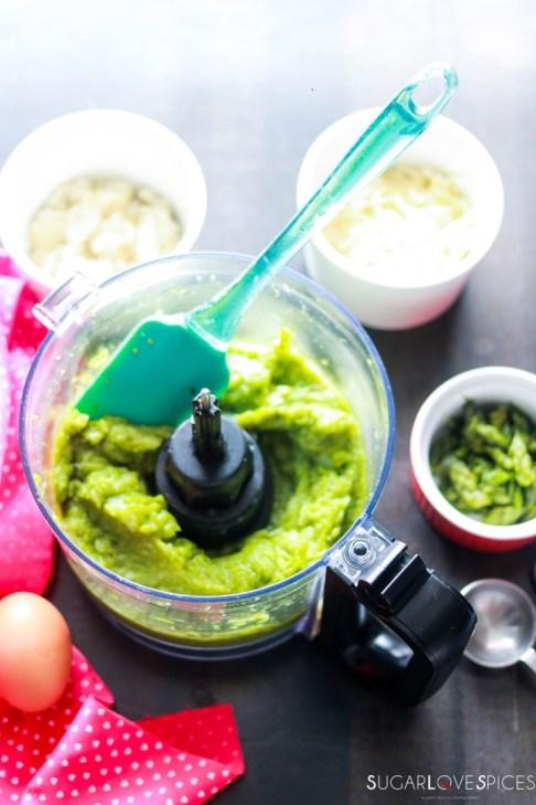 asparagus croquettes-pureed