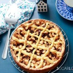 Dutch Apple Tart-whole tart