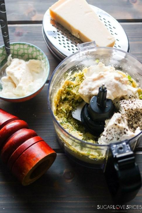Simply delicious artichoke dip-in the food processor