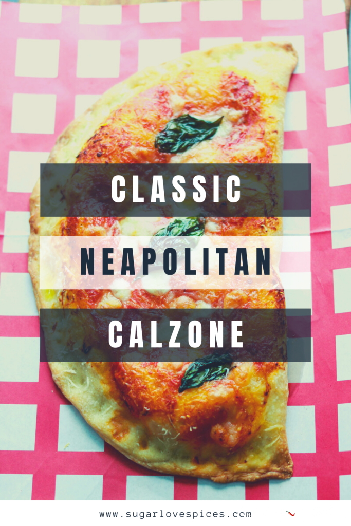 Calzone Napoletano-text on image