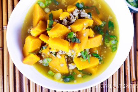 Vietnamese Kabocha Squash Soup-feature-bowl-closeup