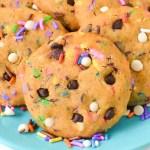 Chocolate Chip Sprinkle Cookie