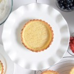 Eggless Tart Shell Recipe