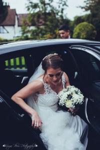 bride, bride arriving, the hundred house