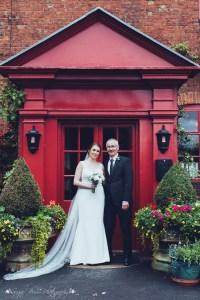 father of the bride, proud, bride, portrait, wedding photography