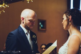 bride, groom, ceremony, wedding, the hundred house