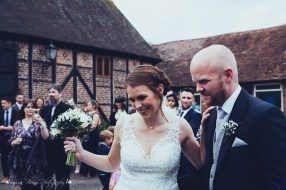 bride and groom, the hundred house, married,