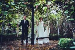 bride, groom, portraits, wedding photography, west midlands, swings