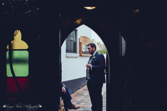 best man, doorway, the hundred house, documentary photographer