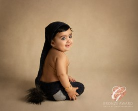 sitter session pixie hat childrens photographer child portraits my first year award winning