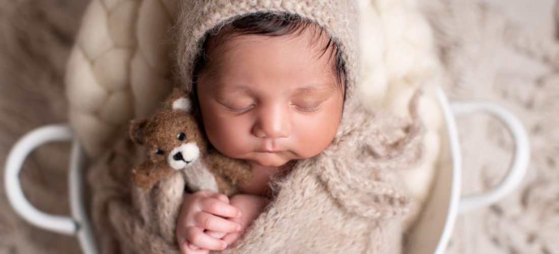 newborn portrait photography dudley teddy