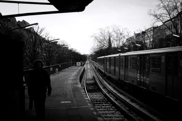 Berlin Impression Januar 2014 #07 - U-Bahn Schlesisches Tor