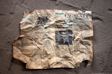 Deutscher Hof Abriss #3 - Schwabacher Tagblatt aus dem Jahr 1962