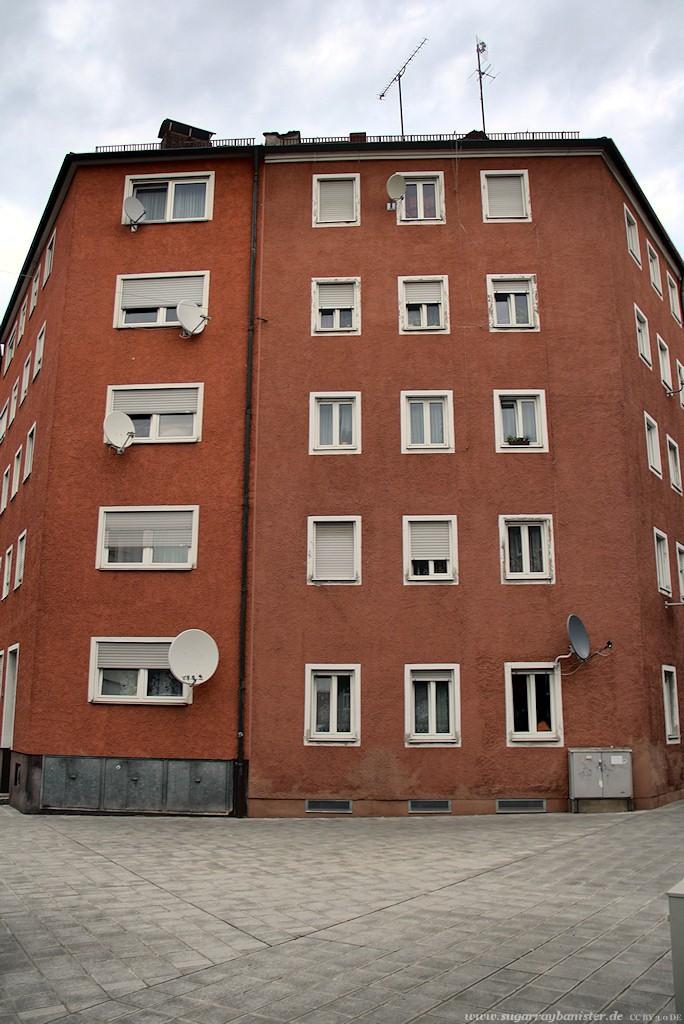 Humboldtstraße - Rotes Haus (Nürnberg Impressionen #12)