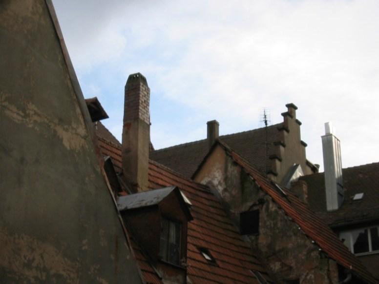 Nürnberg Impressionen #1 - Dächer in der Innenstadt
